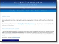 Sally Kirkman Astrologer - Consultant To The Stars|スクリーンショット